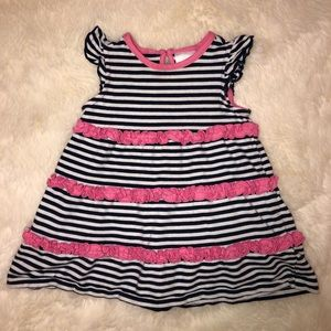 Hanna Andersson Striped Dress, 60cm/3-6 Months